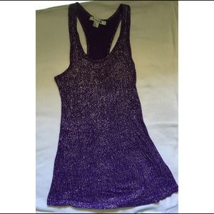 Purple Forever21 Tank Top